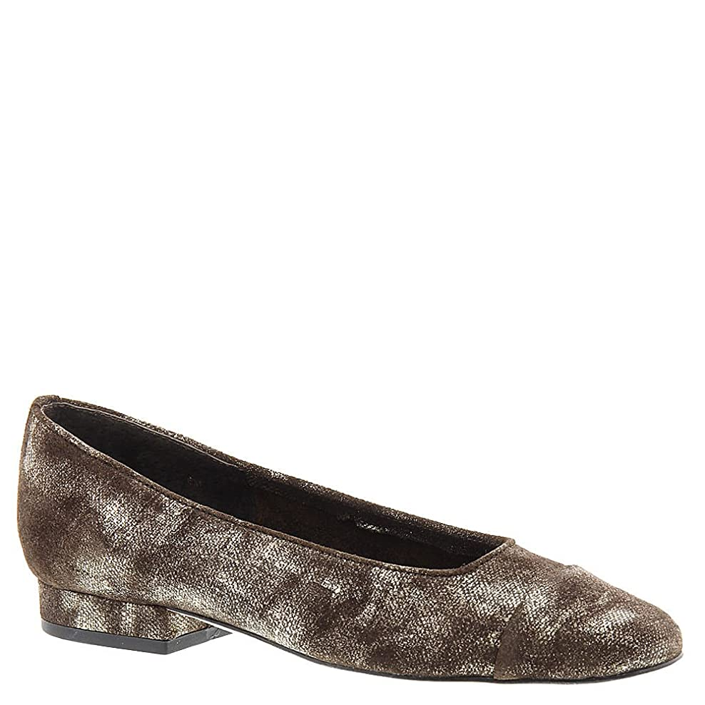 赤持続する歪めるVANELi Womens FC-313 Leather Loafers