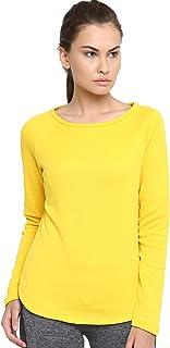 Alcis Yellow Women's T-Shirt