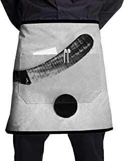 Chef Aprons Ice Hockey Waist Tie Half Bistro Apron For Home Kitchen Cooking