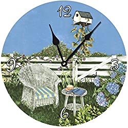Lexington Studios Ericas Garden Wall Clock