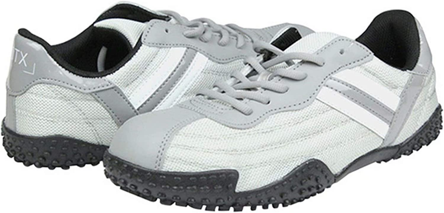 DDTX Safety Work shoes Unisex SBP Steel Toe Anti-Puncture Athletic Grey 5.5-9UK