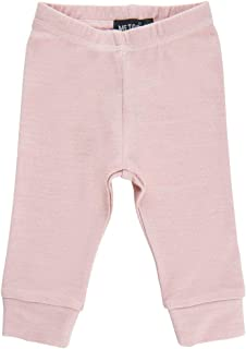 Papfar by Scandinavian Kidz Eco Thermal Wool-Bamboo Long Johns-Baselayer-Bottoms-PJs-Underwear (4 Colors, 3Mo.-2T)