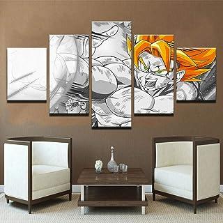 Kit De Pintura De Diamante Diy 5D Diamante Completo Dibujos Animados Anime Dragon Ball Diamante Adhesivo Sala De Estar Pintura Decorativa Hogar Punto De Cruz Sin Marco 36X46Cm