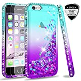 LeYi Custodia iPhone 6/iPhone 6S Glitter Cover con Vetro Temperato [2...