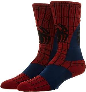 Mens Avenger Socks Fashion Crew Sock Lego Marvel Avengers 4 Cartoon Socks Batman Superman Novelty Funny Casual Men Women Tights Men's Socks