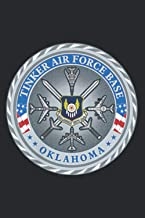 Tinker Air Force Base AFB Military Veteran Patch: Daily Planner Journal Notebook: To Do List, Appointments, Daily Organize...