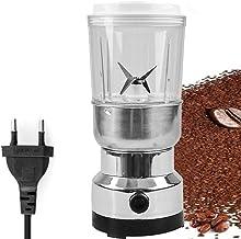 Aibecy Moedor elétrico de grãos de aço inoxidável Moedor pulverizador de ervas 2 em 1 para uso doméstico Máquina de moagem...
