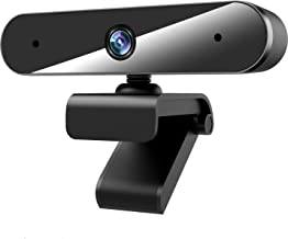 1080P Webcam with Microphone, Web Cameras for Computers Desktop Laptop Live Streaming Camera with Mics Plug & Play, Multi-...