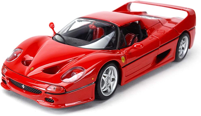 mejor opcion LICCC Ferrari F50 Roadster Modelo de báscula báscula báscula en Color Rojo - Muere colección de Juguete Modelo de aleación de fundición - 25x10x7CM 1 18 Escala  auténtico