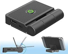 Station d'accueil pour TV Portable, ElecGear Support de Charge Pliable pour Nintendo Switch, HDMI 1080P Vidéo Adaptateur, ...