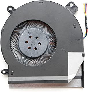 DENGHUXIE ファン ASUS ROG GL504 GL504G GL504GS GL504GM CPU & GPU 冷却ファン (CPUファン(FK7T DC12V))