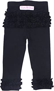 black ruffle pants toddler