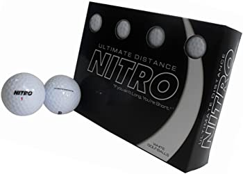 12-Pack Nitro Golf Ultimate Distance Golf Balls