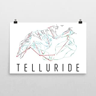Best telluride trail map poster Reviews