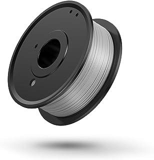 3D Printer PLA Filament 1.75mm, LABISTS Plastic 3D Printing PLA Filament Bundle 0.25kg/0.551lb, 0.25KG/Spool (White)