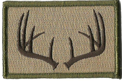 Tactical Wildlife Antlers Patch - Multitan