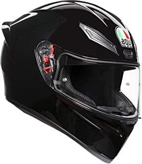 AGV Unisex-Adult Full Face K-1 Motorcycle Helmet Black Medium/Small