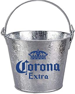 Corona Beer Brand Themed Galvanized Steel Bucket