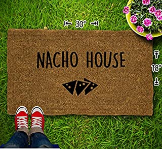 Nacho House Coir Doormat - 18x30 - Welcome Mat - House Warming - Mud Room - Gift - Custom