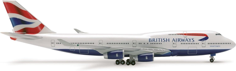 Herpa 512497 - British Airways Boeing 747-400  United Kingdom