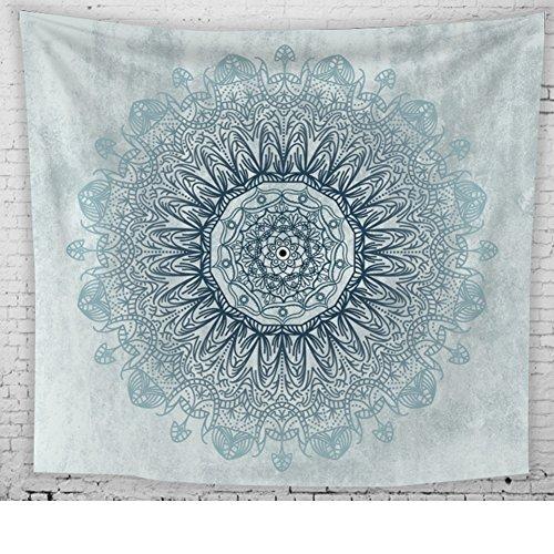 Indiase wandtapijt, wandtapijt, mandala-doek, wanddoek, gobelin tapijt, Indiaas Oosterse Psychedelisch Boheemse decoratiedoek