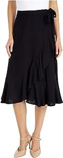 Lucky Brand Women's Kira Wrap Midi Skirt