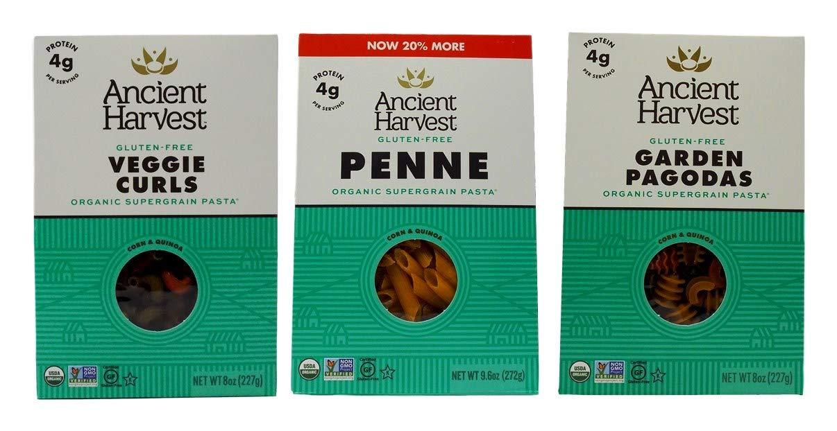Ancient Harvest Gluten-Free Max 47% OFF Supergrain Max 88% OFF Corn 3 Pasta Quinoa Shape