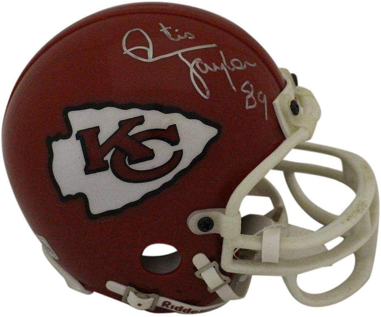 Otis Taylor Signed Mini Helmet  BAS 23256  Beckett Authentication  Autographed NFL Mini Helmets