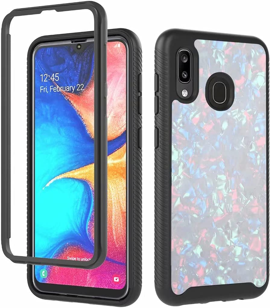 ZXL Max 54% OFF Case Compatible with Galaxy A20 Heavy 3in1 Sho PC+TPU Max 48% OFF Hybrid