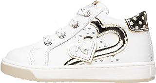 Nero Giardini P820191F Sneakers Kids pour Fille en Cuir Et Toile