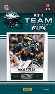 Philadelphia Eagles 2014 Score NFL Football Factory Sealed 12 Card Team Set with Nick Foles, LeSean McCoy, Brent Celek And More !