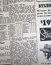 MEL OTT 500th Home Run New York Giants Baseball