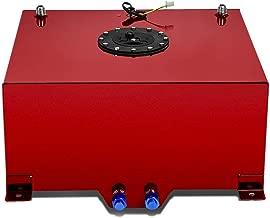 DNA MOTORING Red ALU-FT-T5-RD Aluminum 15.5-Gallon Fuel Cell Gas Tank