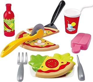 Simba Ecoiffier Chef Pizza Case, Multi-Colour
