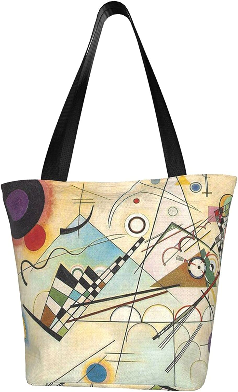 KAWAHATA Composition Woman Tote Bags Financial sales sale Seasonal Wrap Introduction Zippered Travel Shopping Fo