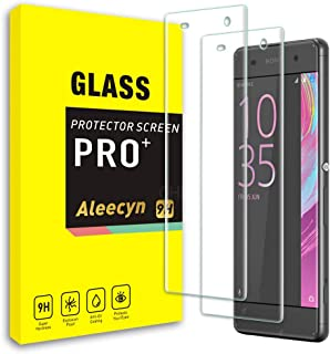 WARMYEE Cristal Templado para Sony Xperia XA, Vidrio Templado Protector de Pantalla Película Protectora, Dureza 9H, Anti - arañazos Anti-Rasguño,Fácil de Instalar [2 pezzi]