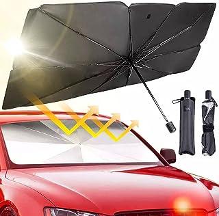 Foldable Car Sunshade Umbrella UV Windshield Cover Heat Insulation Sun Blind Auto Protection Accessories Size: Small