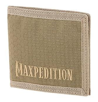 Maxpedition BFW Bi Fold Wallet Tan,9x0.125x4