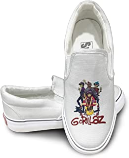 Gorillaz Band Mens Casual Sneakers Shoes Classic Boat Shoes