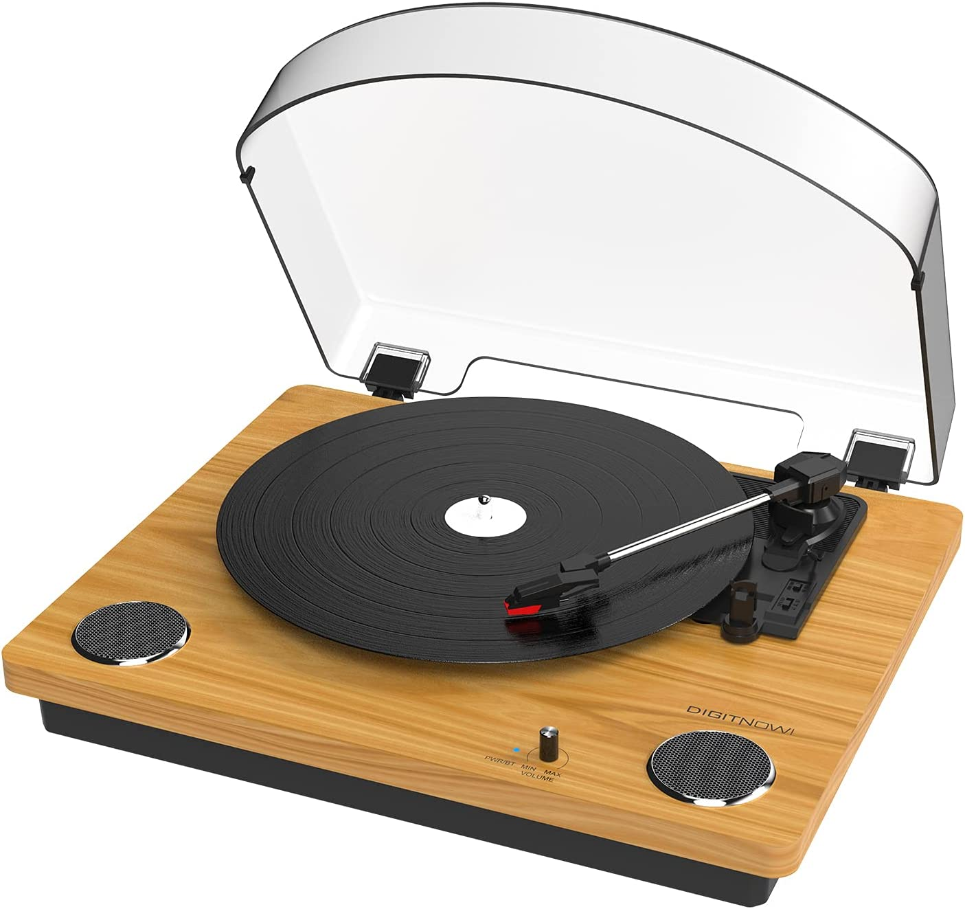 Vinyl Turntable Record Player Max 43% OFF Receiver Low price Bluetooth Built-in with