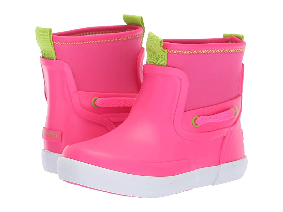 Sperry Kids Seawall Boot (Toddler/Little Kid) (Pink Synthetic) Girls Shoes