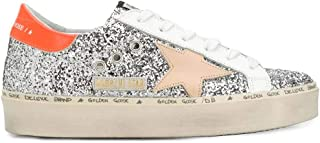 Golden Goose Luxury Fashion Womens G36WS945Q5 Silver Sneakers |