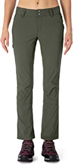 NAVISKIN Women's Quick Dry UPF 50+ Trail Pants Lightweight Hiking Outdoor Cargo Pants Water Resistant