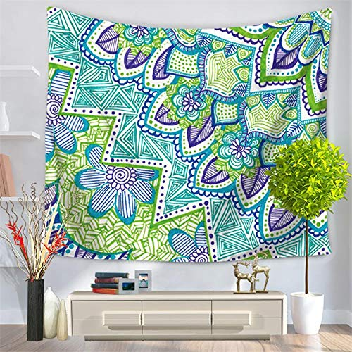 Impreso mandala tapiz colgante de pared hippie tapiz toalla de playa decoración del hogar tapiz tela de fondo a4 150x200 cm