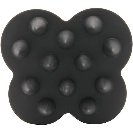 ウカ(uka) ウカ スカルプブラシ ケンザン(頭皮用ブラシ) 黒 1個 (x 1)