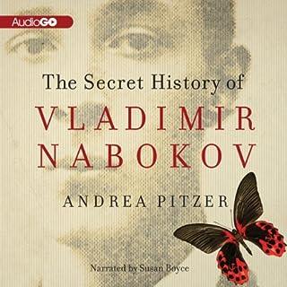 The Secret History of Vladimir Nabokov audiobook cover art