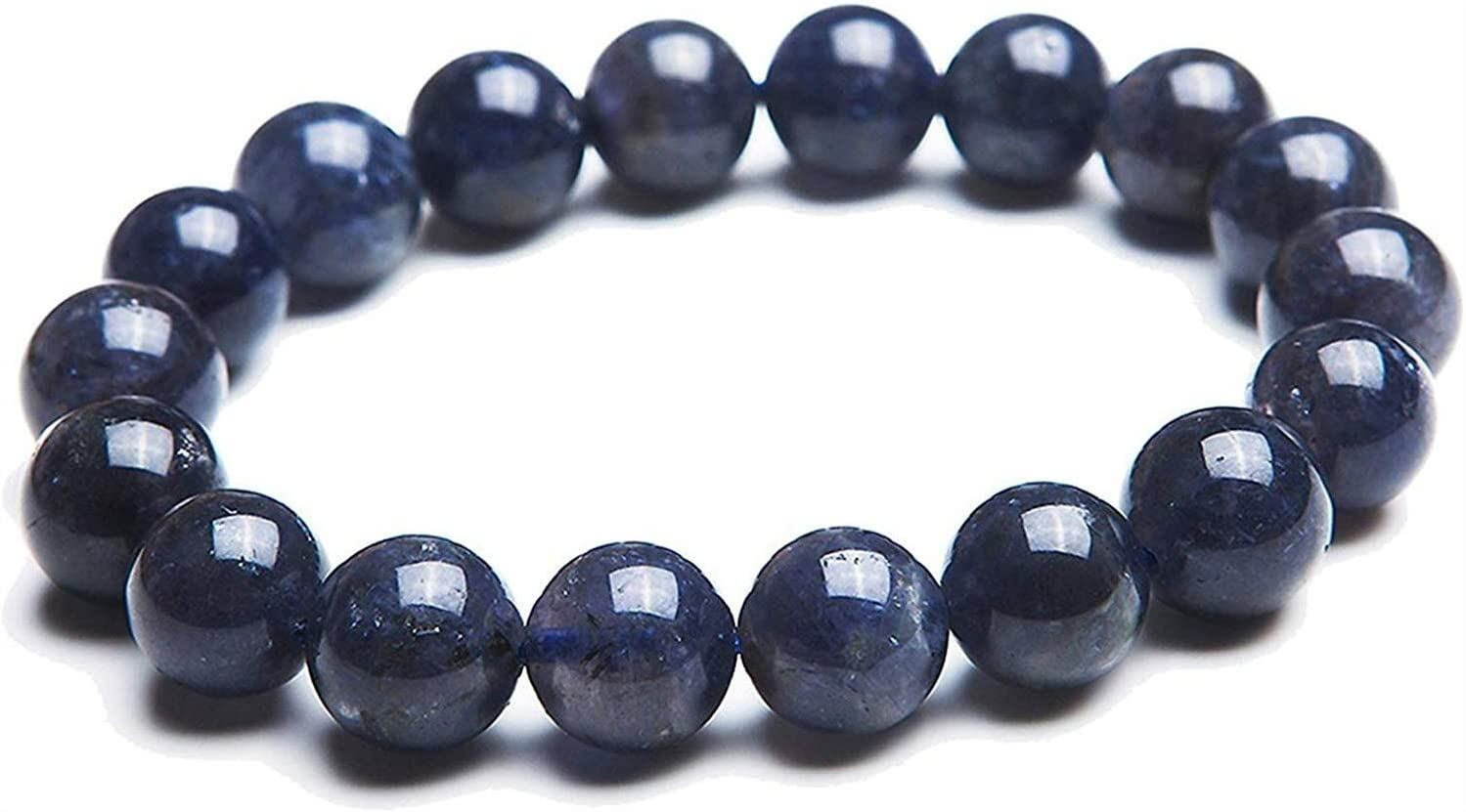 Max 90% OFF Xuyang Translated Men and Women Crystal Dark Gem Bracelet Stone w Bead Blue