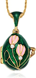 lily of the valley locket