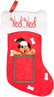 Clever Creations Puppy Dog Hanging Christmas Stocking | for Kids & Adults | 4