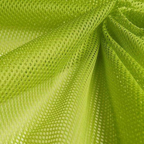 Insektenschutz - Fliegengitter - Schutznetze - Baldachin - Mückenschutz - Stoff - Meterware - 100 % Polyester (hellgrün)